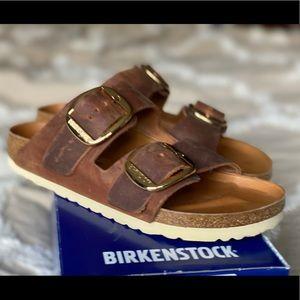 Birkenstock Big Buckle sandals- EUC